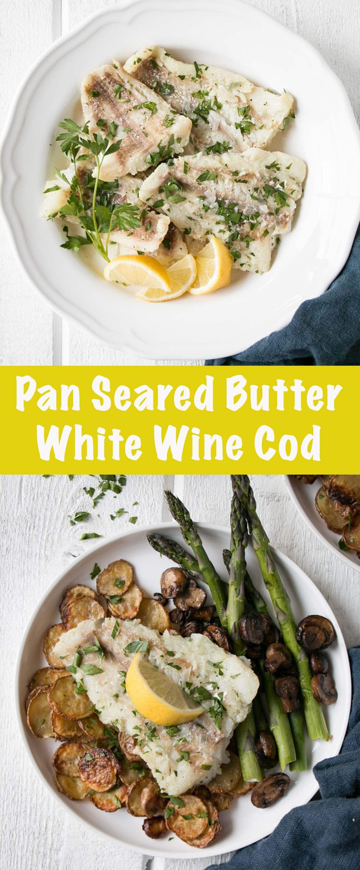 Pan Fried Cod long PIN