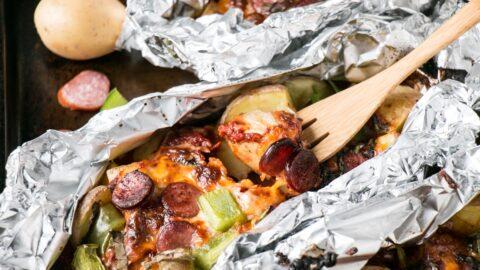 Pizza Potato Packs