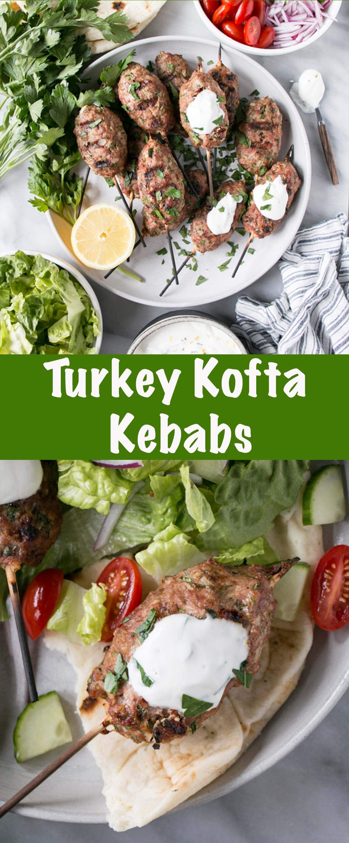 Turkey Kofta Kebabs Long PIn.