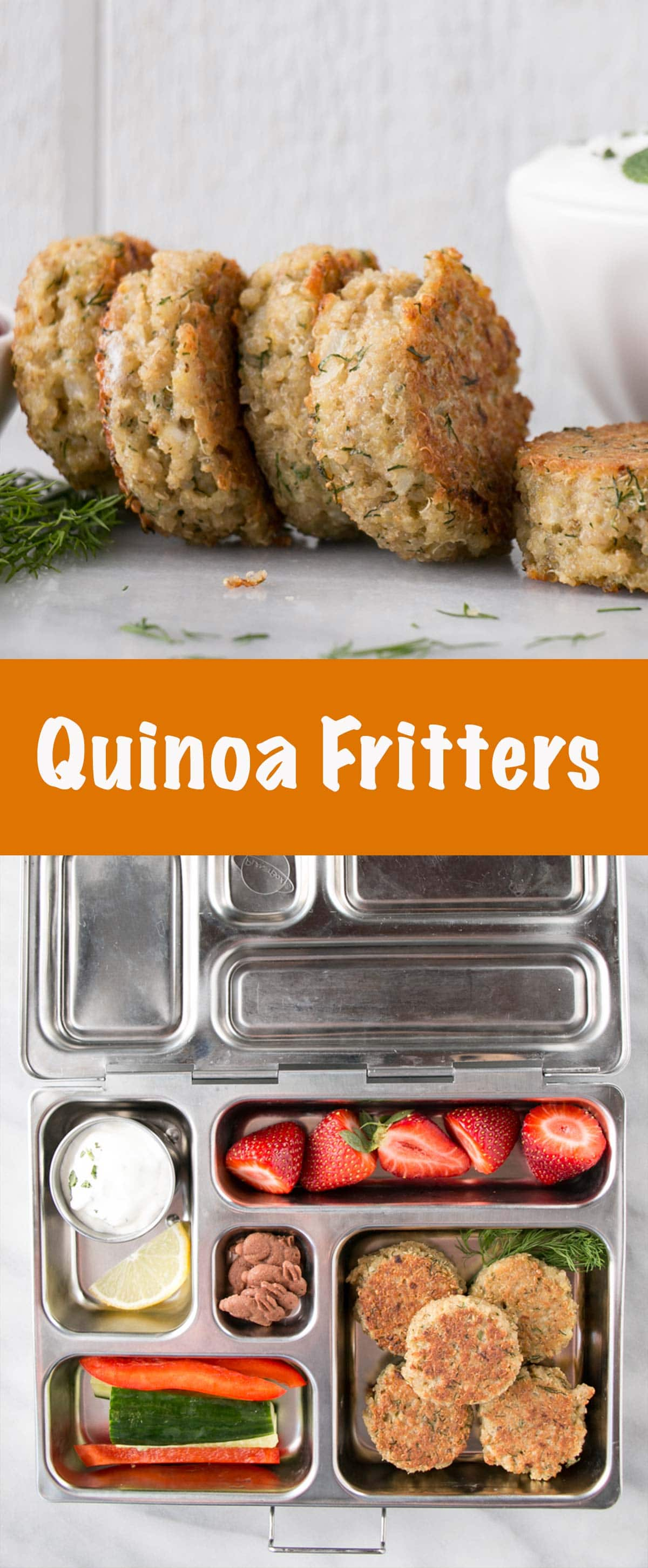 Quinoa Patties long pin