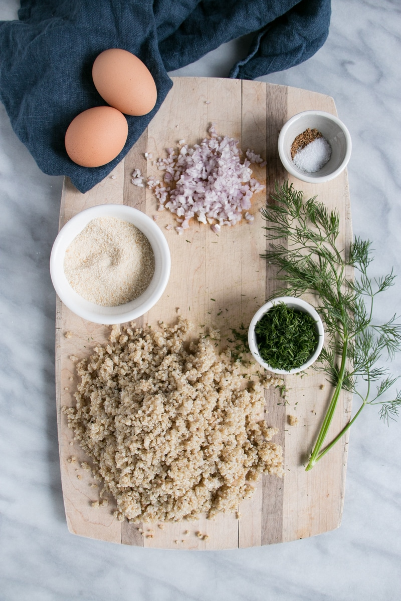 Quinoa Patties ingredients