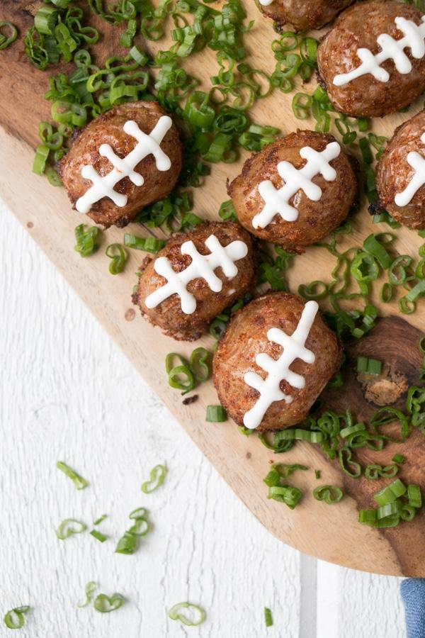 Crispy Seasoned Football Potatoes
