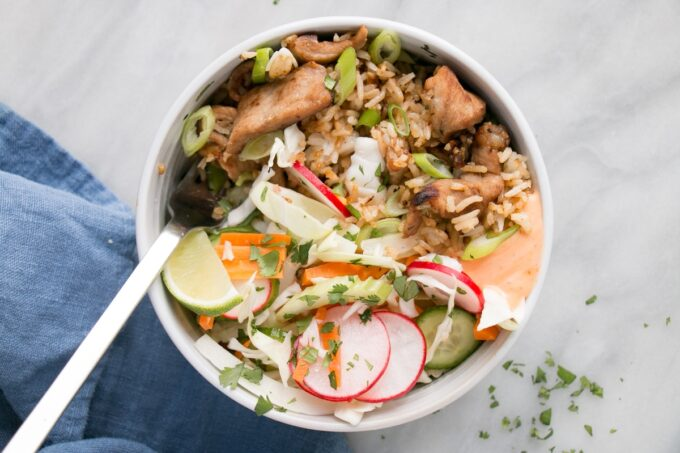 Banh Mi Fried Rice