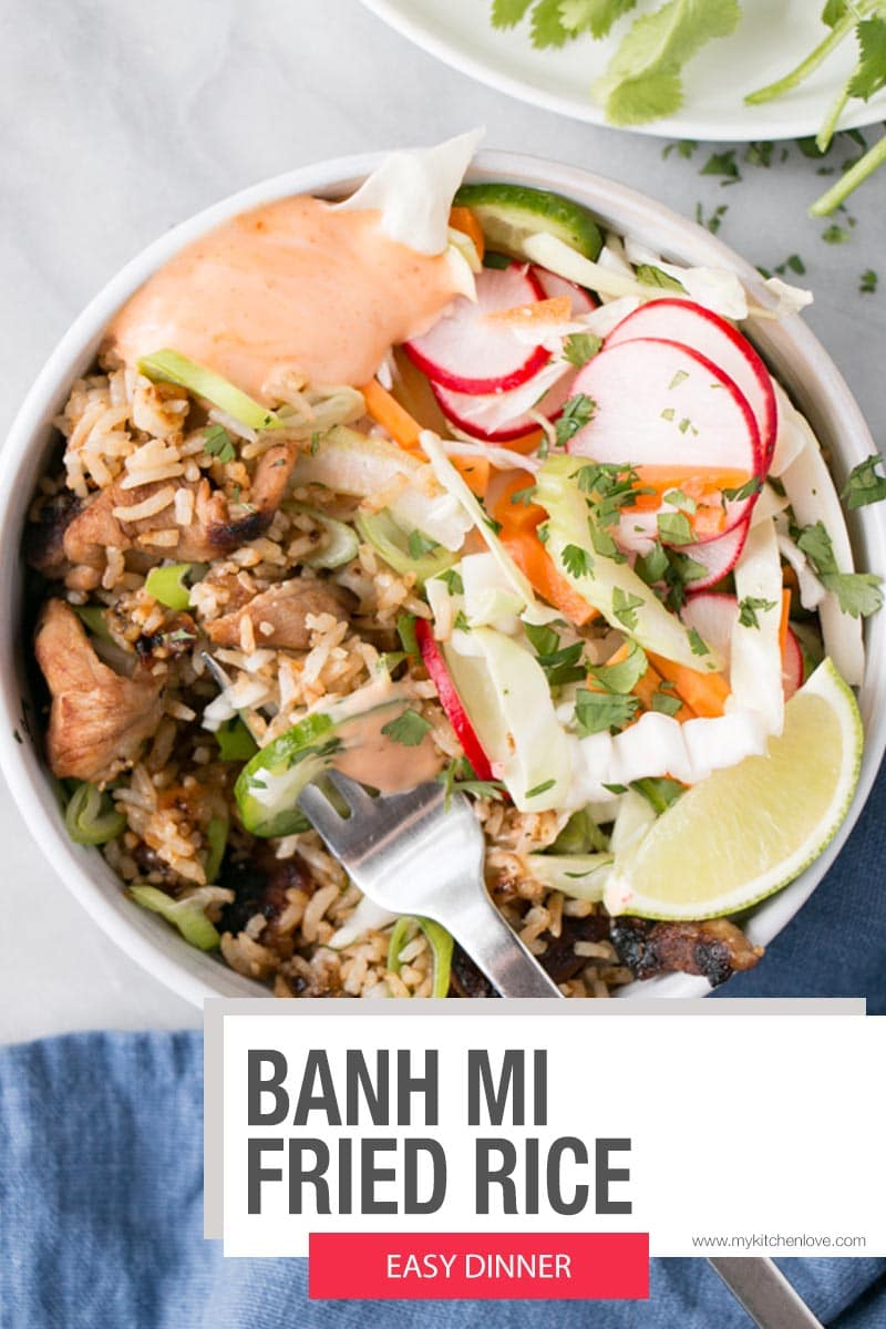 Banh Mi Fried Rice Short Pin