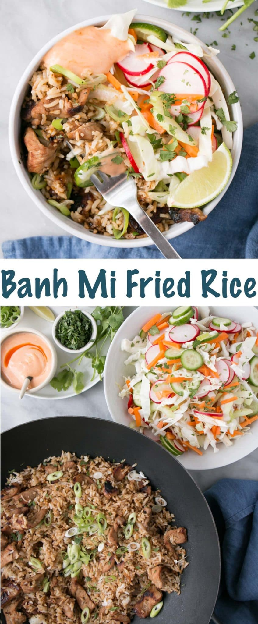Banh Mi Fried Rice Long Pin