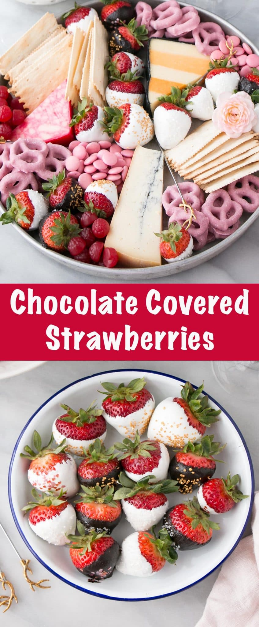 Chocolate Covered Strawberries Long Pin