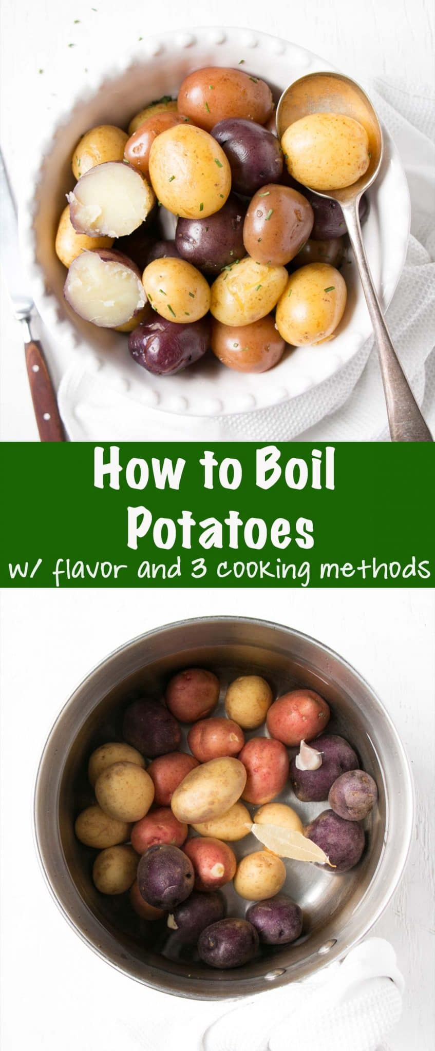 How to Boil Potatoes Long Pin