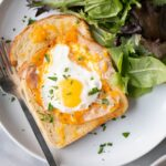 Ham and Cheese Egg in the Hole