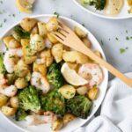 Sheet Pan Shrimp and Potatoes