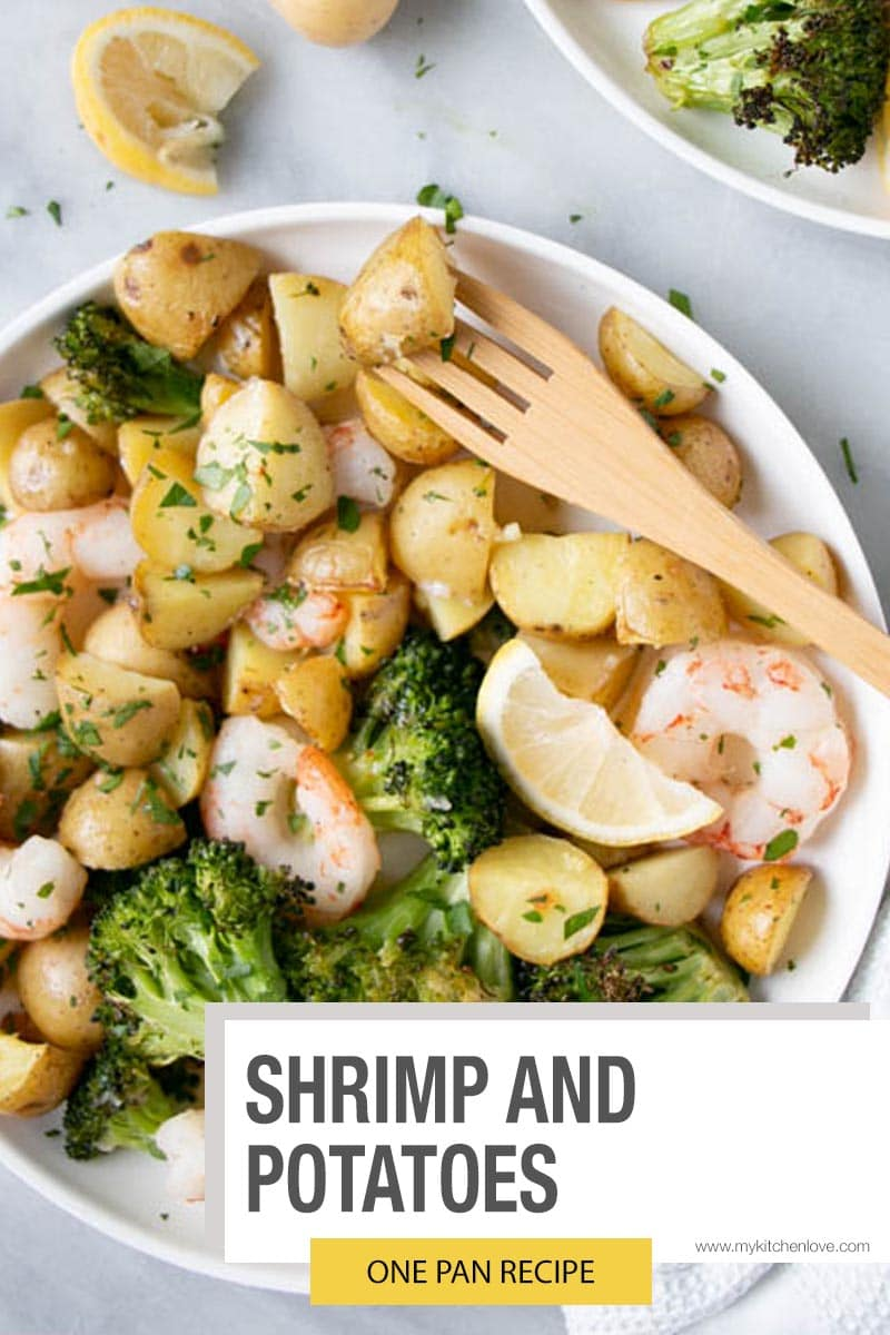 Shrimp and Potatoes Sheet Pan Meal Short Pin