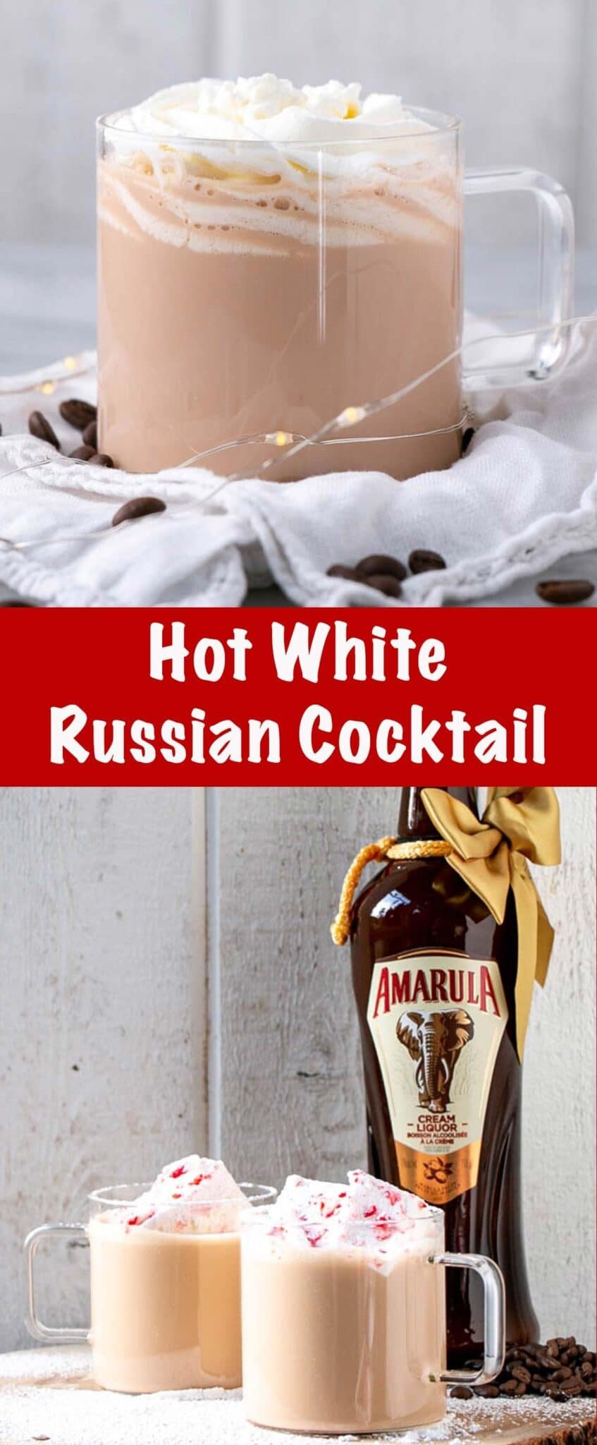 Hot White Russian Long Pin