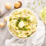 Colcannon Recipe (Irish Potato Recipe with Cabbage)