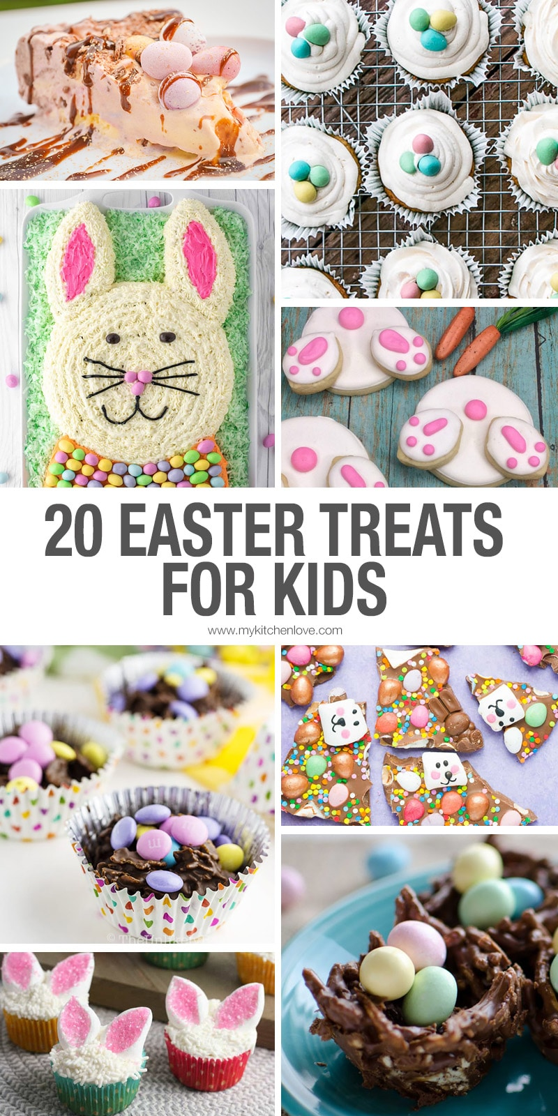 20 Easter Treats for Kids Long Pin