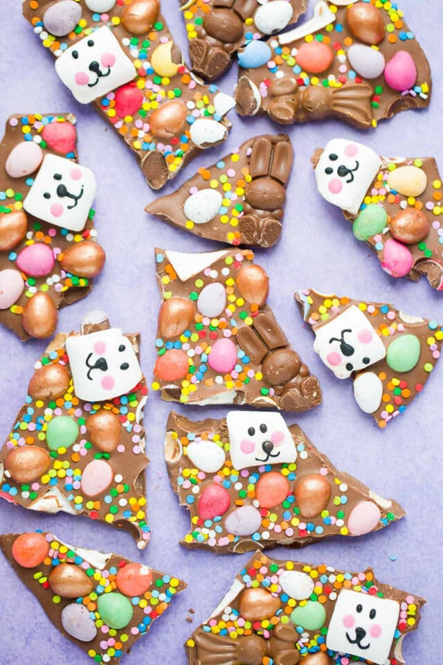 Chocolate Easter Bark