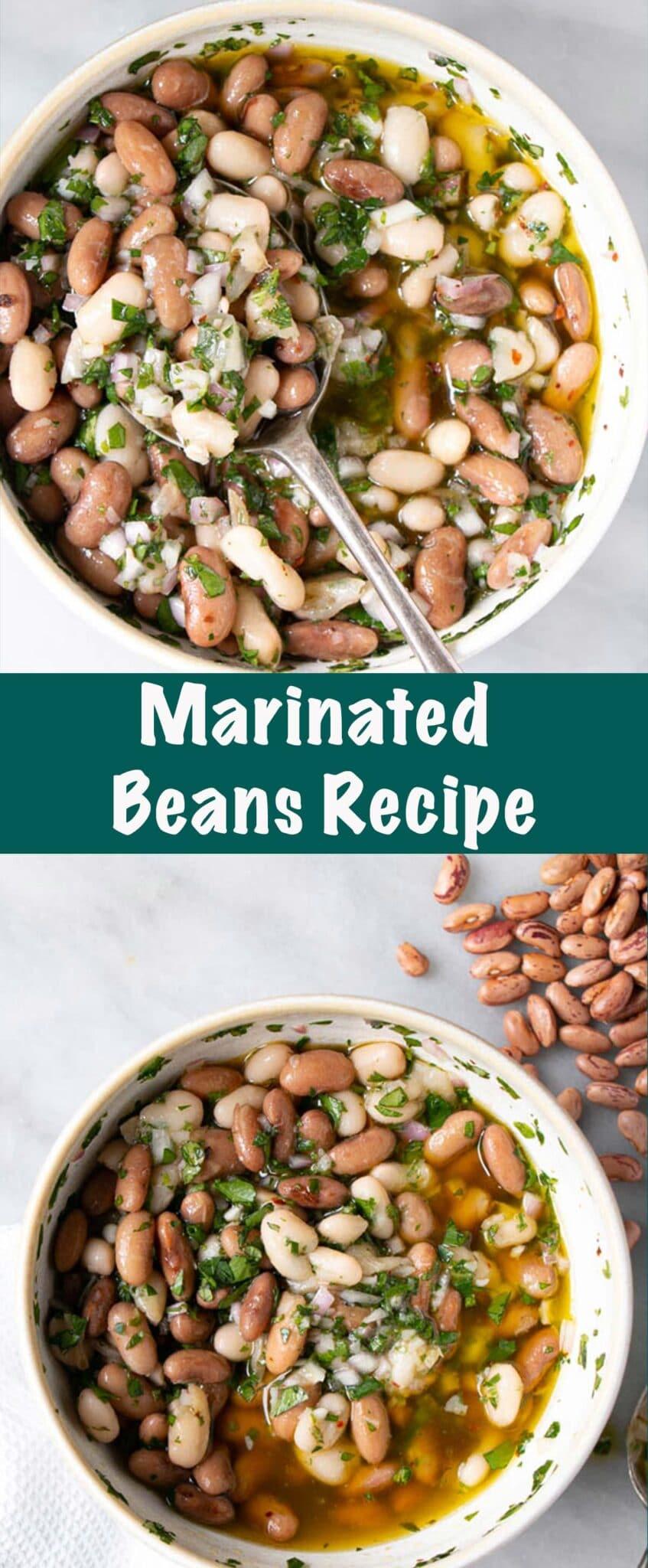 Marinated Beans Long Pin